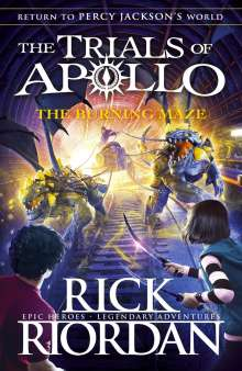Rick Riordan: The Trials of Apollo - The Burning Maze, Buch
