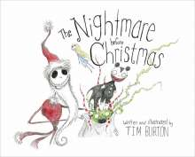 Tim Burton: The Nightmare Before Christmas, Buch