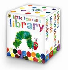 Eric Carle: Little Learning Library, 4 Vols., Buch