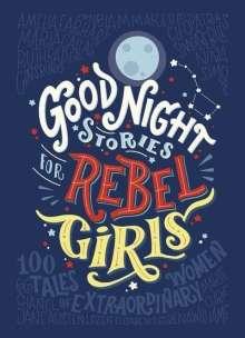 Elena Favilli: Good Night Stories for Rebel Girls, Buch