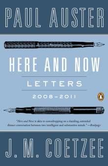 Paul Auster: Here and Now, Buch