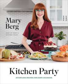 Mary Berg: Kitchen Party, Buch