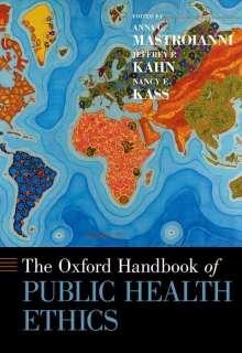 The Oxford Handbook of Public Health Ethics, Buch