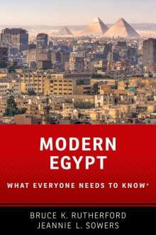 Bruce K. Rutherford: Modern Egypt, Buch