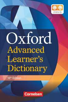 Oxford Advanced Learner's Dictionary B2-C2 (10th Edition) mit Online-Zugangscode, Buch