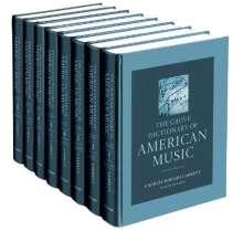 Charles Hiroshi Garrett: The Grove Dictionary of American Music, Buch