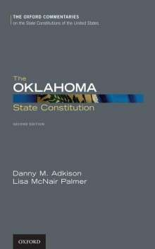 Danny M. Adkison: The Oklahoma State Constitution, Buch