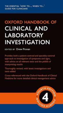 Oxford Handbook of Clinical and Laboratory Investigation, Buch