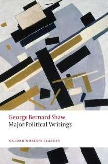 George Bernard Shaw: Major Political Writings, Buch