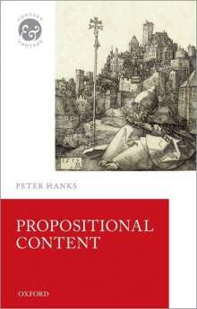 Peter Hanks: Propositional Content, Buch
