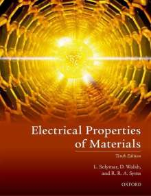 Laszlo Solymar: Electrical Properties of Materials, Buch