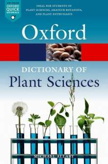 Michael Allaby: A Dictionary of Plant Sciences, Buch