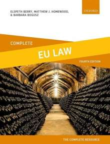 Elspeth Berry: Complete EU Law, Buch