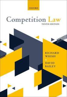 Richard Whish (Emeritus Professor, King's College London): Competition Law, Buch