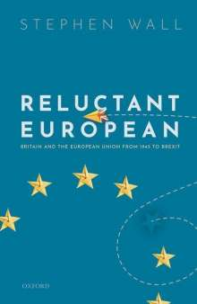 Stephen Wall: Reluctant European, Buch