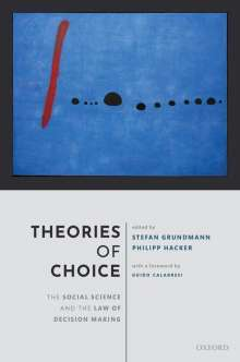 Theories of Choice: The Social Science and the Law of Decision Making, Buch