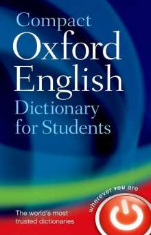 Compact Oxford English Dictionary for Students, Buch