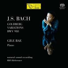 Johann Sebastian Bach (1685-1750): Goldberg-Variationen BWV 988, Super Audio CD
