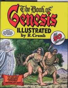 Robert Crumb: Robert Crumb's Book of Genesis, Buch