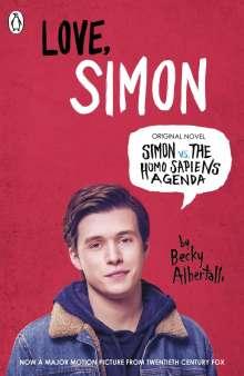 Becky Albertalli: Simon vs. the Homo Sapiens Agenda. Love Simon. Film Tie-In, Buch