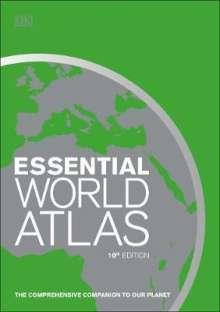 DK: Essential World Atlas, Buch