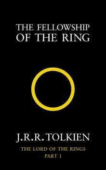 John R. R. Tolkien: Lord of the Rings 1. The Fellowship of the Rings, Buch