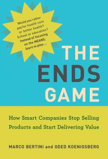 Marco Bertini: The Ends Game, Buch