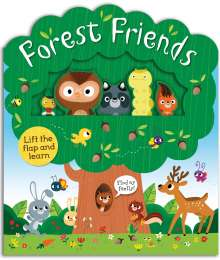 Roger Priddy: Forest Friends: A Lift-And-Learn Book, Buch