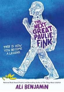 Ali Benjamin: The Next Great Paulie Fink, Buch