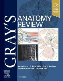 Marios Loukas: Gray's Anatomy Review, Buch