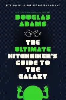 Douglas Adams: The Ultimate Hitchhiker's Guide to the Galaxy, Buch