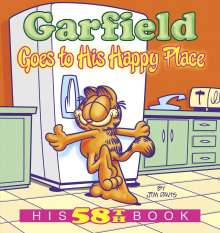 Jim Davis: Garfield Goes to His Happy Place, Buch