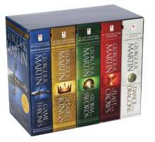 George R. R. Martin: Game of Thrones 5-Copy Boxed Set, Buch
