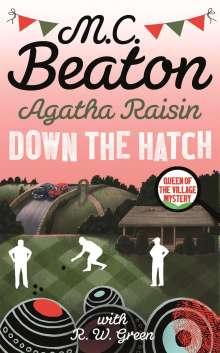 M. C. Beaton: Agatha Raisin in Down the Hatch, Buch
