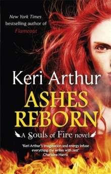 Keri Arthur: Ashes Reborn, Buch