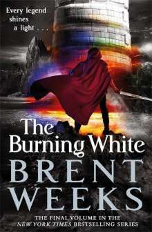 Brent Weeks: The Burning White, Buch