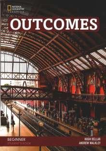 Hugh Dellar: Outcomes A0/A1.1: Beginner - Student's Book + DVD, Buch