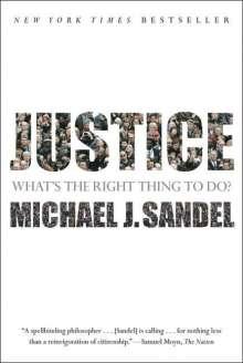 Michael J. Sandel: Justice, Buch