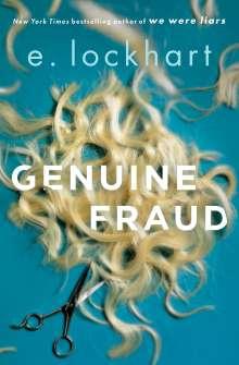 E. Lockhart: Genuine Fraud, Buch