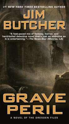 Jim Butcher: Grave Peril, Buch