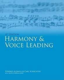 Edward Aldwell: Harmony & Voice Leading, Buch