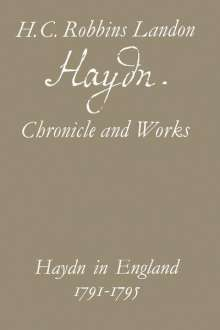 H.C.Robbins Landon: Haydn: Chronicle and Works, Buch