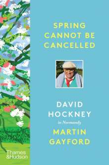 Martin Gayford: Spring Cannot be Cancelled, Buch