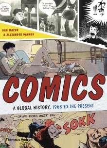 Dan Mazur: Comics, Buch