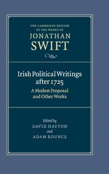 Jonathan Swift: Irish Political Writings after 1725, Buch
