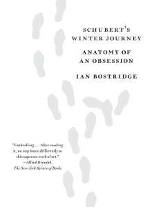 Ian Bostridge: Schubert's Winter Journey, Buch