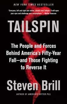Steven Brill: Tailspin, Buch