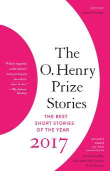 The O. Henry Prize Stories 2017, Buch