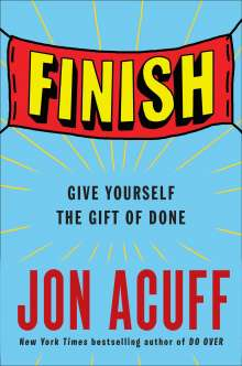 Jon Acuff: Finish, Buch