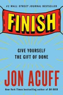 Jon Acuff: Finish, Buch